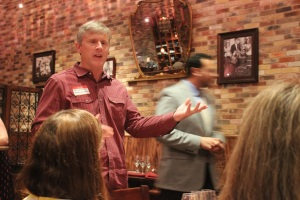 David Kuhlken of Pedernales Cellars Speaking on Viognier.