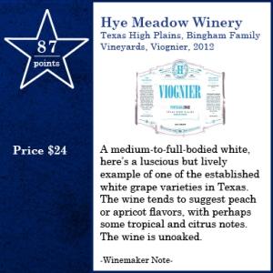 Hye Meadow, Bingham Vnyd. 2012