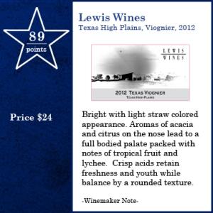 Lewis Wines Viognier 2012