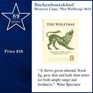 Bockenhoutskloof Western Cape, 'The Wolftrap' 2012