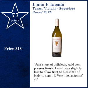 Llano Estacado Texas, 'Viviana - Superiore  Cuvee' 2012
