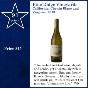 Pine Ridge Vineyards California, Chenin Blanc and Viognier, 2013