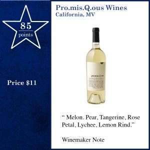 Pro.mis.Q.ous Wines California, MV