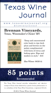 Brennan Vineyards, Texas, 'Winemaker's Choice' MV, 85 pts
